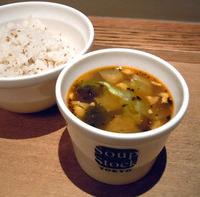 8種の野菜と鶏肉スープ