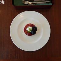 葡萄のムースケーキ