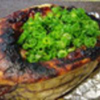 箱ふぐの味噌焼き