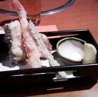 かに天ぷら