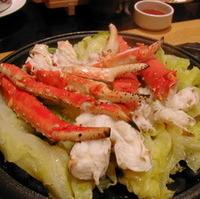 石焼きタラバ蟹