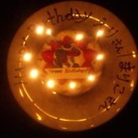 ネーム入りお誕生日ホールケーキ