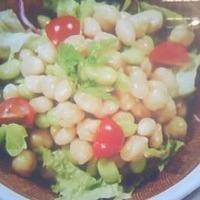 シンプルお豆サラダ