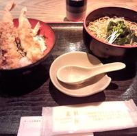 天丼&お蕎麦セット