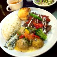 牛スネ肉と野菜の柔らか煮   鶏ドネルケバブ