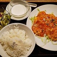 海老と玉子のチリソース炒めセット