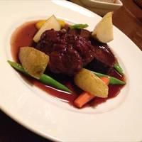国産和牛ホホ肉の赤ワイン煮
