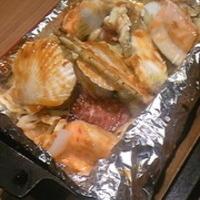 海鮮ホイル包み焼き
