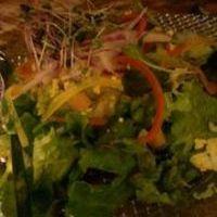 芝海老・アボカド・豆富のガドガド風サラダ