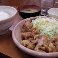 ジャンボ若鶏竜田揚げ定食