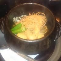湯葉で作った揚げ出汁湯葉