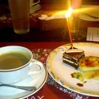 季節のお誕生日コース デザート
