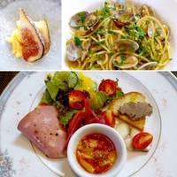 産地直送食材の前菜ビュッフェ&パスタランチ