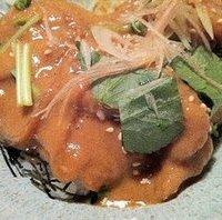 鯛めし(海鮮胡麻和え)