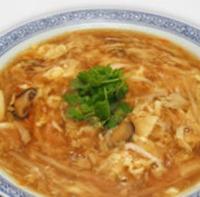 四川酸味辛味スープそば