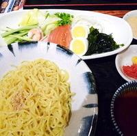 冷しサラダつけ麺