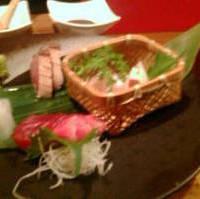 産直鮮魚の5種盛り合わせ