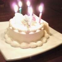 お誕生日用バースデーケーキ