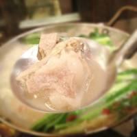 ランチ 5食限定 特製「もつ鍋」定食 880円