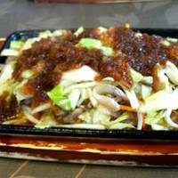 肉野菜炒めランチ