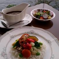 季節野菜のカレーライス