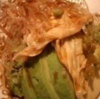 アボカドと湯葉のサラダ