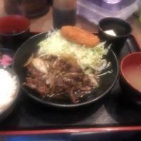 牛ハラミ焼肉定食