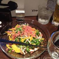 和野菜のサラダ
