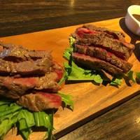 熟成肉3種盛、生ハム3種食べ放題