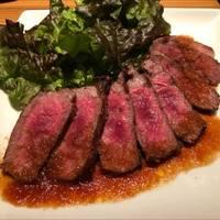 国産和牛の赤身石焼ステーキ