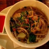 フォー鶏肉のベトナム風汁そば