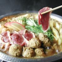 蕎麦屋の鴨すき鍋