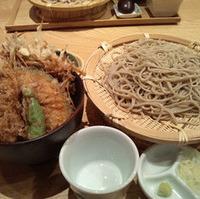 蕎麦と天丼
