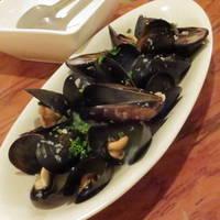 新鮮ムール貝の白ワイン蒸し
