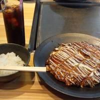 大阪の豚モッツアレラ玉定食