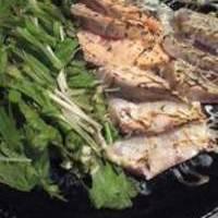 海鮮炙り 三種盛り合わせ