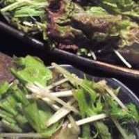 水菜と大根の梅の香りサラダ