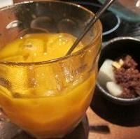 マンゴーのとろけるお酒