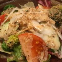 魚金の生野菜サラダ