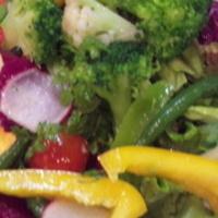 お野菜たっぷりミックスサラダ