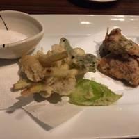 豚と春野菜の天婦羅