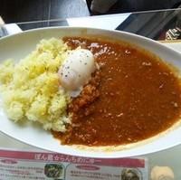 ぽん蔵特製キーマカレー