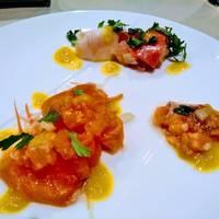 前菜魚料理