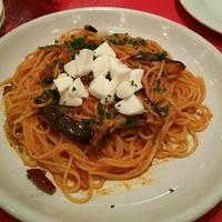 茄子とモッツァレラチーズのバジリコ風味
