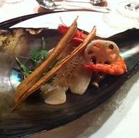 平貝のソテー