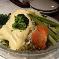 野菜サラダ(自家製マヨネーズソースがけ)