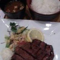 牛ヒレ生姜焼定食