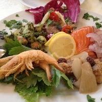魚介の前菜盛り合わせ