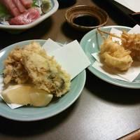 牡蠣とゆり根の天ぷら