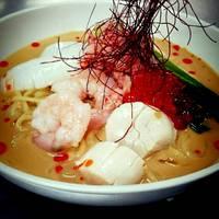 海鮮入り冷やし担担麺